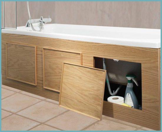 выдвижной экран под ванну