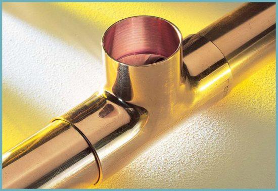 преимущества медных труб для водопровода