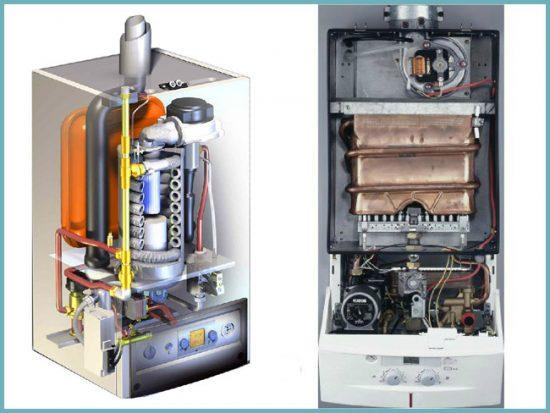 устройство газовых котлов для отопления дома