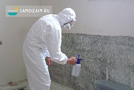 Обработка стен перед отделкой