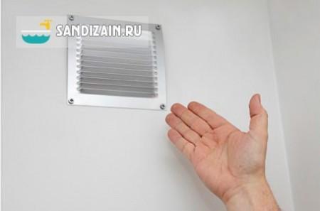 Отсутствие нормальной вентиляции - основная причина плесени и грибка