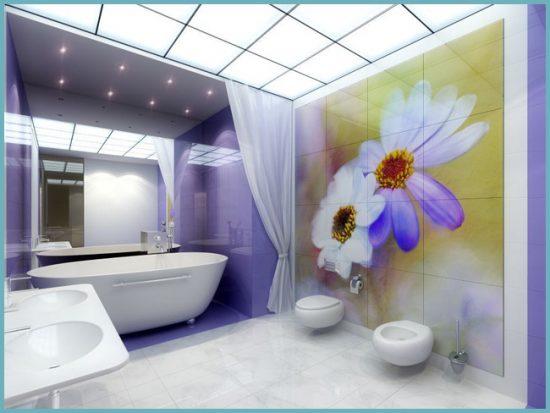 уход за декоративной пленкой в ванной комнате