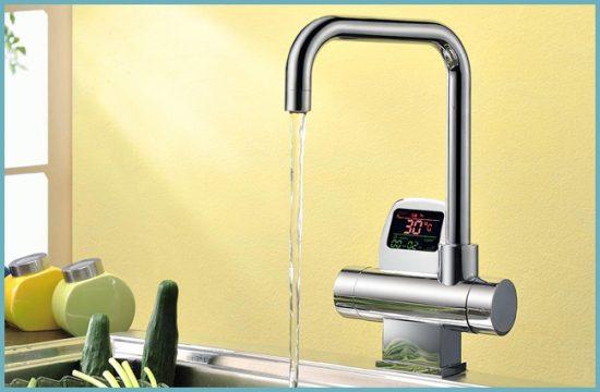 установка термостатического смесителя на кухне