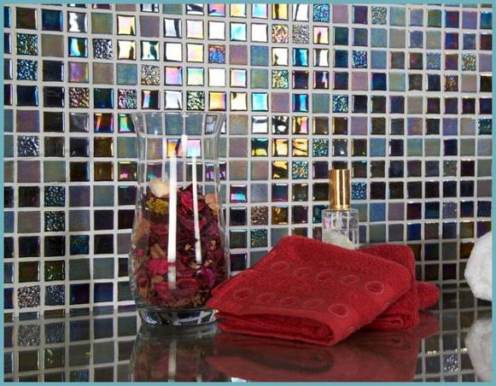 укладка стеклянной мозаики своими руками