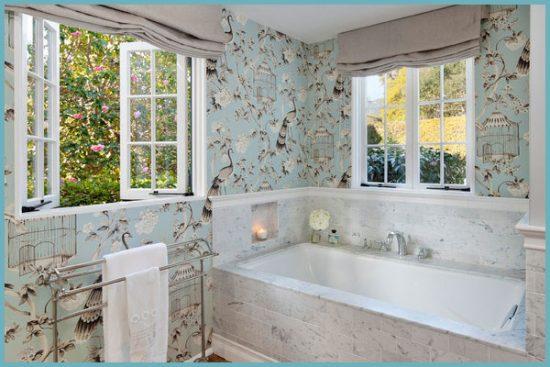 декоративная пленка в интерьере ванной