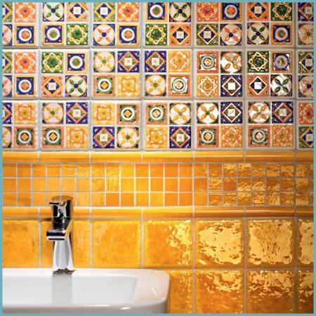 плитка майолика для ванной