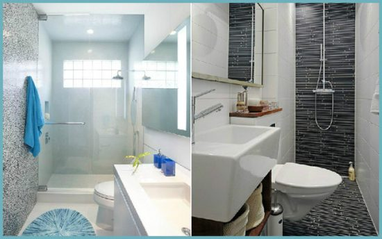 как установить душевую в маленькой ванной