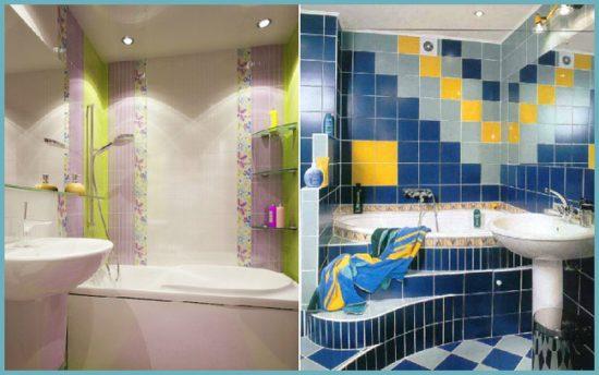 установки ванны в маленькой ванной комнате