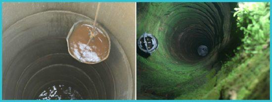 очищение воды в колодце