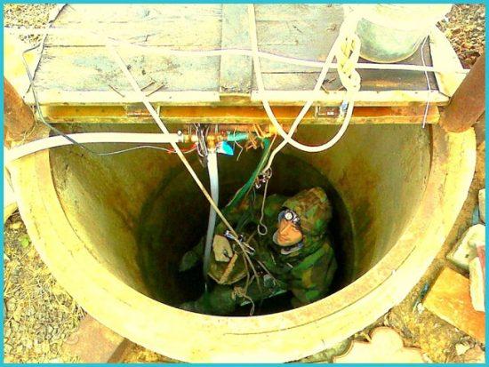дезинфекция воды и чистка колодца