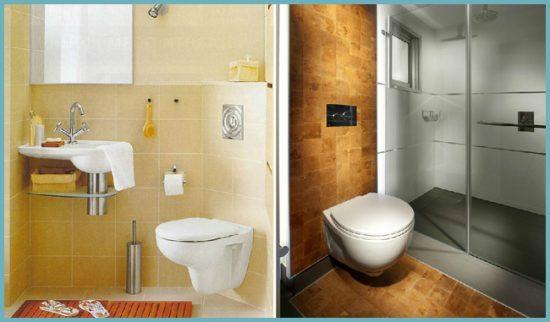 фальшь-стена для маскировки труб в ванной или туалете
