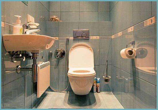 Планируя ремонт ванной комнаты и туалета. обязательно продумайте способ маскировки водопроводных труб