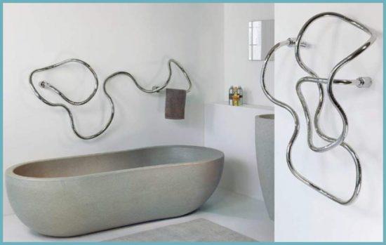 преимущества кабельного электрического полотенцесушителя