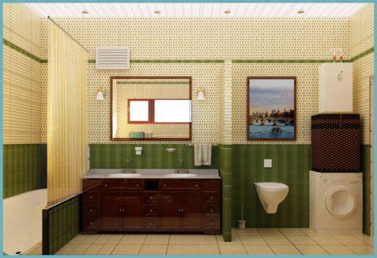 мебель в совмещенной ванной комнате