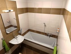 Дизайн ванной в 4 кв.м.
