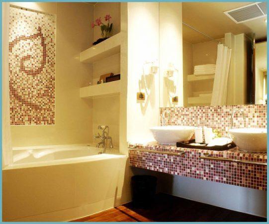 какую плитку выбрать для небольшой ванной