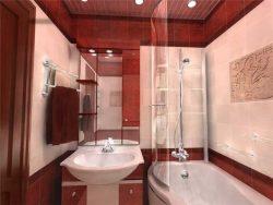 Интерьер ванной в 5 кв.м.