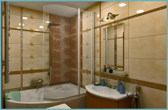 керамическая плитка для ванной 5 кв м