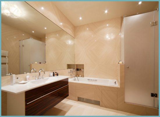 какой свет сделать в ванной комнате