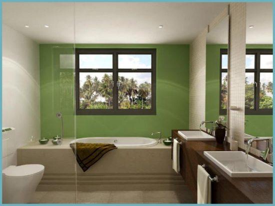 как сделать фальшь-окно в ванной