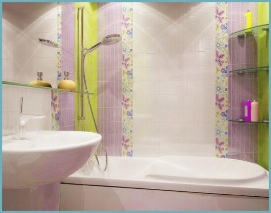 цвет отделки для ванной в хрущевке