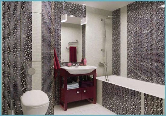 какая бывает мозаика для ванной