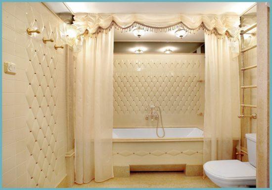 оформление ванной комнаты в светлых тонах