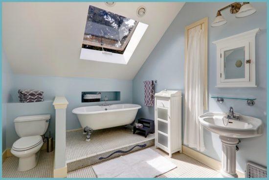 сантехника для интерьера ванной в стиле прованс