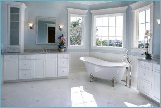 какую мебель выбрать для интерьера ванной в стиле прованс