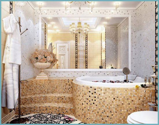 мозаика для большой ванной