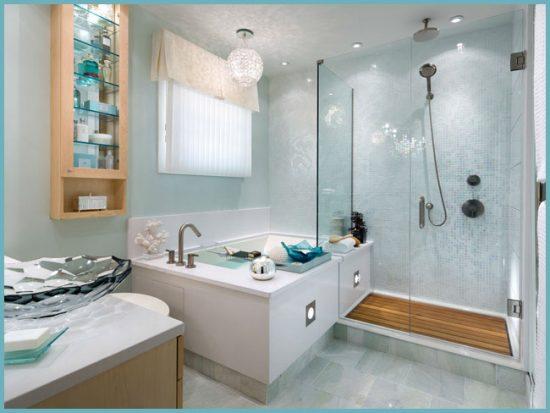 дизайн большой ванной