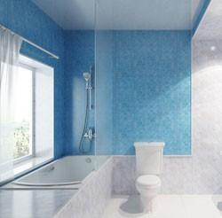 пластиковые панели в дизайне ванной комнаты