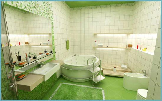 какой цвет выбрать для ванной в современном стиле