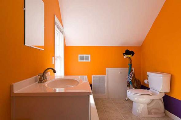 какой цвет стен выбрать для ванной