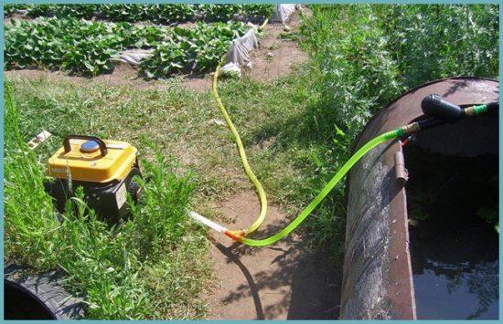 как работает поверхностный насос для полива