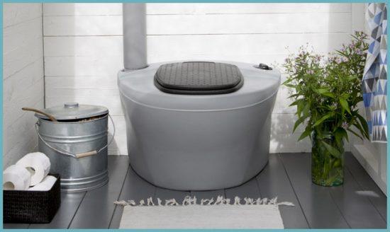 как построить торфяной туалет