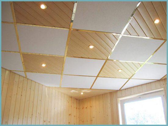 как сделать потолок из ПВХ