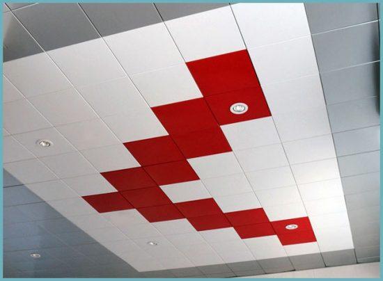 модульный подвесной потолок своими руками