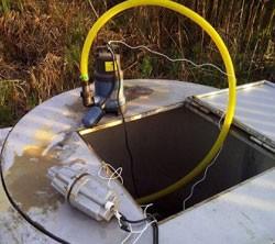 насос для откачки воды из колодца