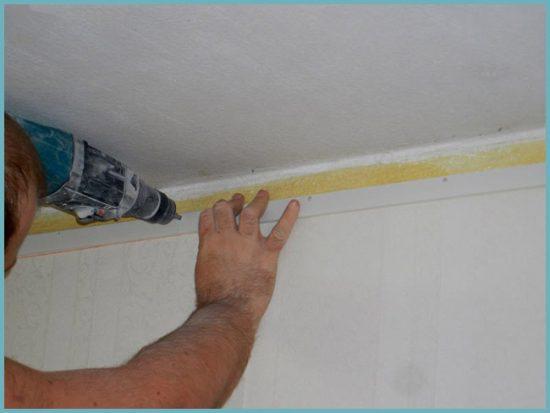 багет для подвесного потолка