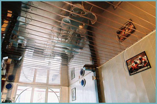 как монтировать подвесной потолок