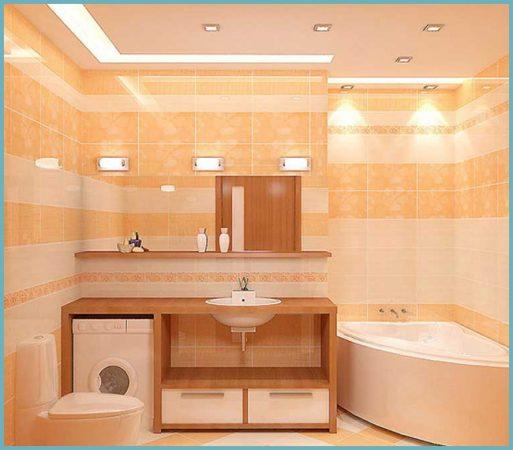 типы освещения ванной