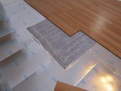 теплый пол на бетон