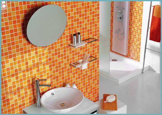 плитка мозаика для ванной