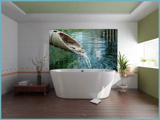 плитка необычная для ванной