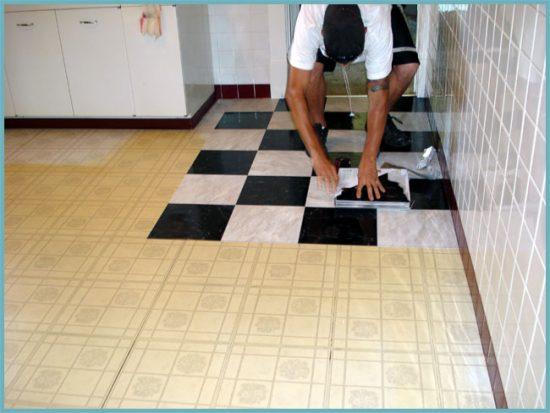 подготовка поверхности под плитку