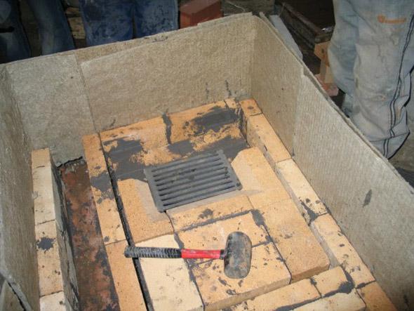 отопительная печь с водяным контуром