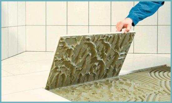 укладка плитки керамогранитной