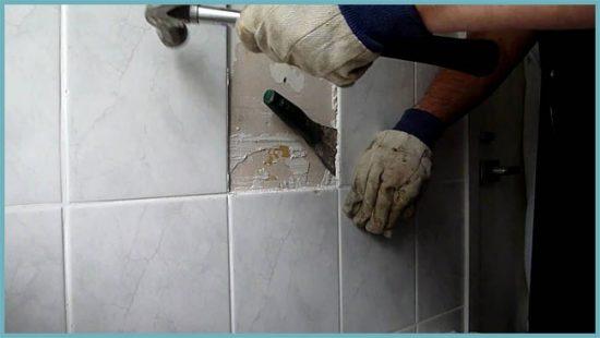 подготовка стены к укладке плитки