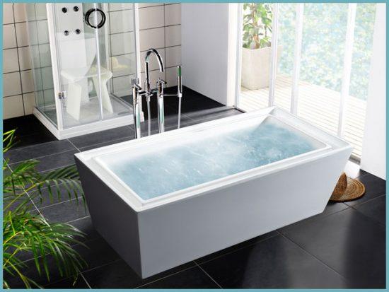 акриловые ванны по форме